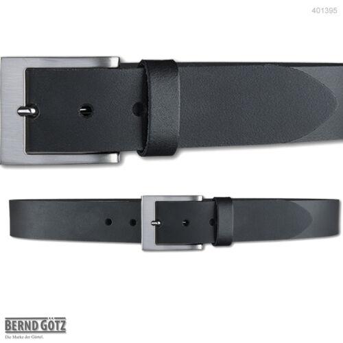 BERND GÖTZ Jeansgürtel 4 cm breit Pull-Up-Rindleder bis 120 cm Ledergürtel