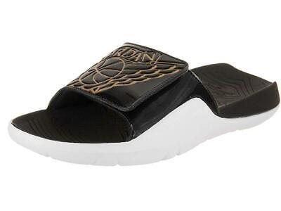 separation shoes 4178b 64945 NIKE AIR JORDAN HYDRO 7 SLIDE MEN'S SIZE 11 BLACK GOLD WHITE AA2517-021 |  eBay