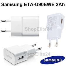 CARICA BATTERIA Originale Samsung ETAU90EWE Bianco 2A per Galaxy S 3 4 5 6 NOTE