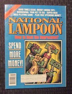 1991 National Lampoon Humor Magazine May Vf Satire Comedy Daniel