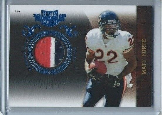 Matt Forte 2010 Panini Plates and Patches Jerseys Prime #18 50/50