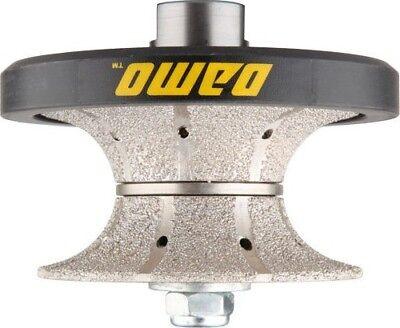 "V40 1-1//2/"" Router Bit for Countertop Bullnose Coarse Diamond Hand Profiler"
