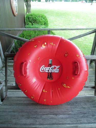 Coca-Cola  Inflatable Tube Sled Float NOS UNIQUE ITEM