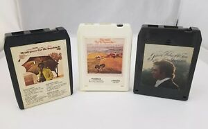 1970s-Easy-Listening-8-Track-Tapes-Set-of-3-Johnny-Mathis-Ed-Ames-Buddy-Greco