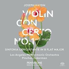 Haydn / Los Angeles - Violin Concerto No. 1 in C Major - Sinfonia [New SACD]