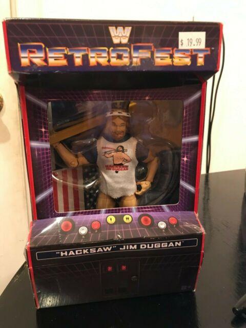 WWE MATTEL retrofest King metales Jim Duggan Elite Exclusivo Figura Nueva