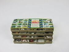 Old Fashioned Cabinet Of Animals Shackman New York 20 Drawers Vintage Toys