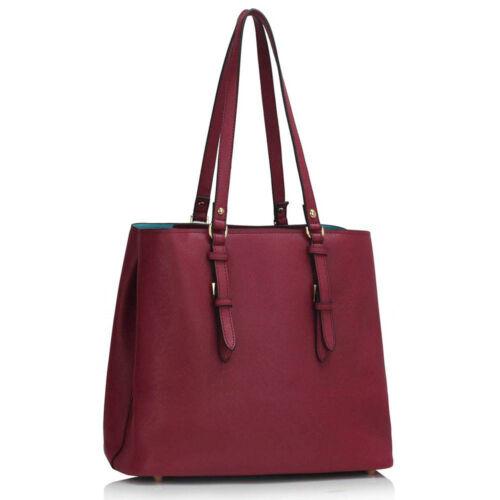 Women's Designer Shoulder Bags Ladies Faux Leather New Celebrity Style Handbags