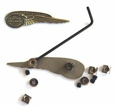Never lose a  Harley Badge with 24 pack pin locks saver lockers keeper keepers