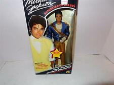 MICHAEL JACKSON- SUPERSTAR OF THE 80'S DOLL- GRAMMY AWARDS OUTFIT-MINT BB4