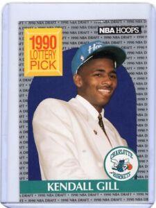 1990-NBA-HOOPS-BASKETBALL-ROOKiE-CARD-394-KENDALL-GILL-CHARLOTTE-HORNETS