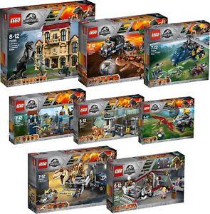 LEGO-FULL-Jurassic-World-75931-75930-75929-75928-75927-75926-75932-75933-N6-18