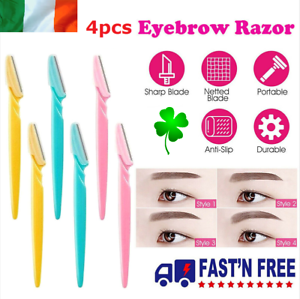 4pcs-Eyebrow-Razor-Dermaplaning-Painless-Facial-Shaper-Tool-Hair-Remover