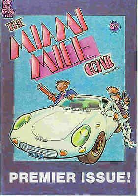 Miami Mice # 1 (mark Bode) (usa, 1985) Und Ein Langes Leben Haben.