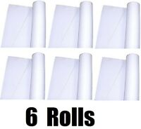 (6) Tablemate Fl50-wh 36 X 50' Roll White Textured Fabric Aisle Floor Runner