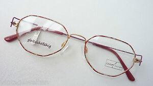 Gewissenhaft Owp Brille Leicht Filigrane Metallbrille Mehreckig Dünner Rand Rot Grösse M Augenoptik Beauty & Gesundheit