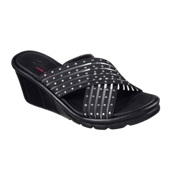 Details about Skechers Cali Women's Promenade Easy Go Wedge Sandal Choose SZColor