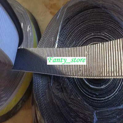 1 roll Graphite packing tape,Not Self adhesive,10mm*15m*0.5mm,Corrugated #W0B1