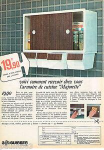 Details About Publicite Advertising 055 1966 Kitchen Cabinet Majorette Catalog 3 Swiss Show Original Title