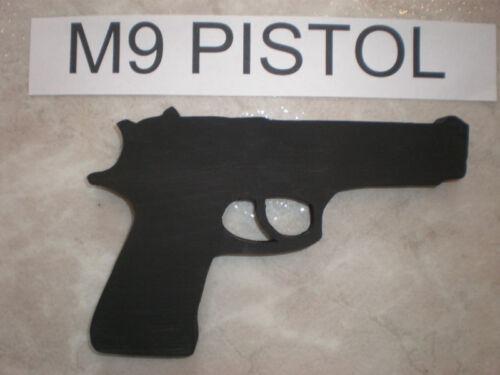 Desert Eagle OR Gov.45 OR Luger OR M9 Beretta Replica Toy Wood Gun