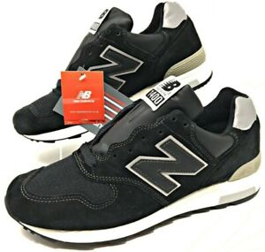 new product 8a2b7 03492 Details about New Balance NB 1400 Mens Black/Silver Made in USA Suede Mesh  Size 12 M1400BKS