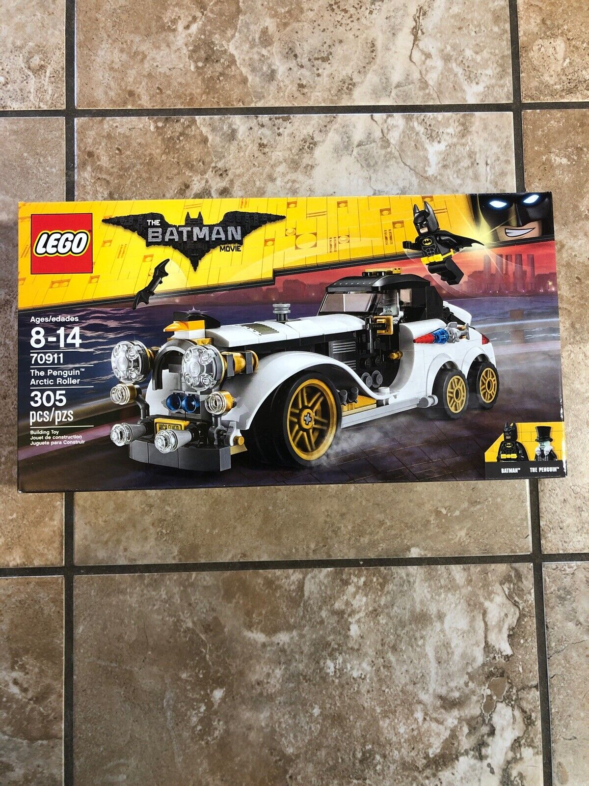Lego Batman Movie The Penguin Arctic Roller 70911 New In Sealed Box Retired Lego