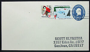 US-Stationery-Cover-American-Lung-Association-Christmas-Scott-GS-Letter-I-8612