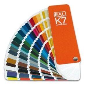 Détails Sur Nuancier Peinture Ral K7 Classic 213 Couleurs Guide Teintes Nuancier Couleur