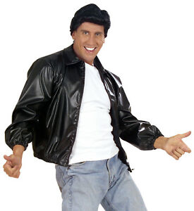 greaser t birds jacket grease movie male man black t bird ebay