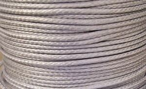3MM-X-10M-Silver-Dyneema-sk78-Fiber-Synthetic-Winch-yacht-rope-1000-kg-NEW
