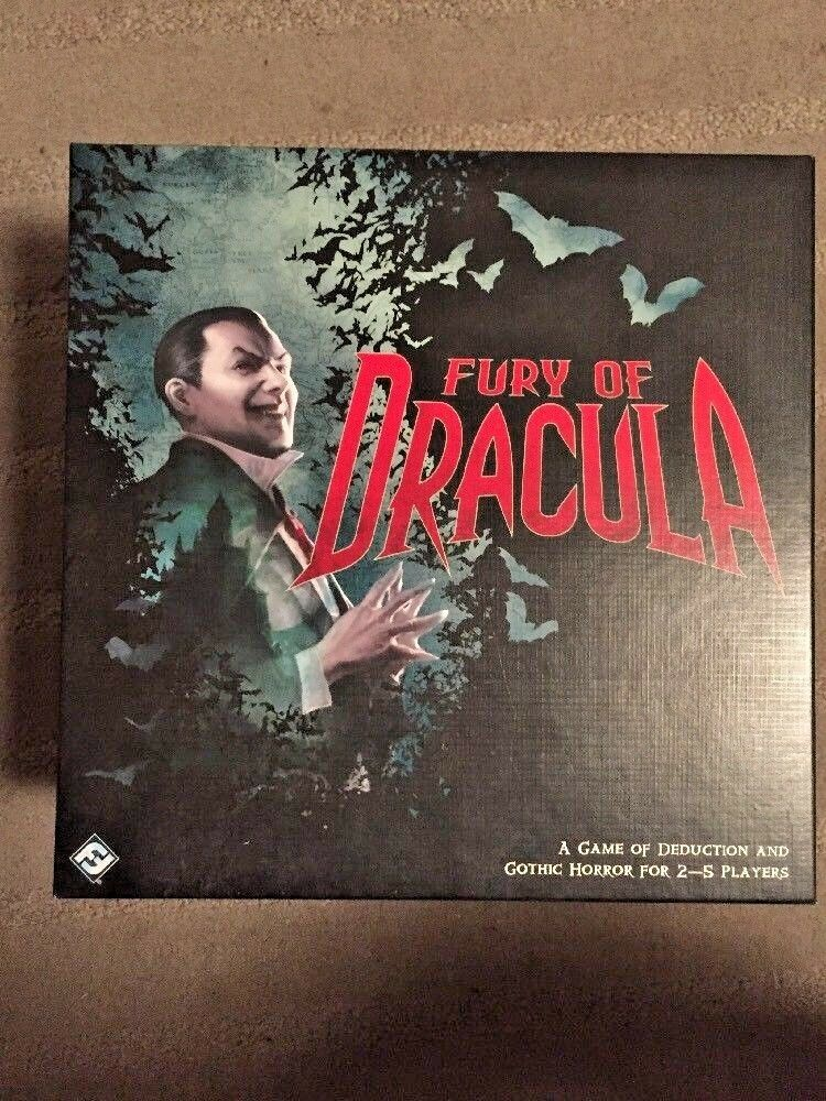 Fantasy Flight Boardgame Fury of Dracula (3rd Edition) Box NM