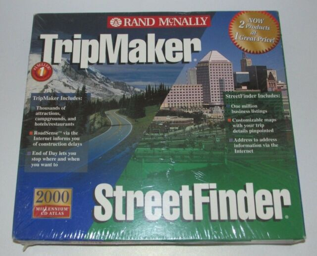 Rand Mcnally Tripmaker >> Rand Mcnally Tripmaker Deluxe 2000