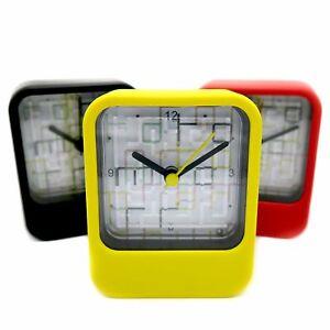 Clock & Mini Maze Toy Puzzle Small Mini Table Watch Time Quartz Fun Game Kid Box