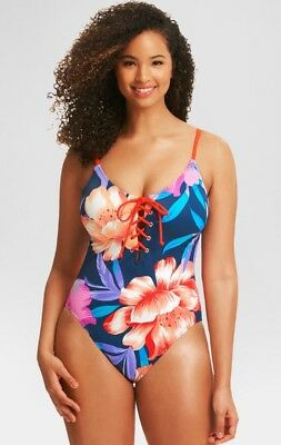 Beach Betty™ by Miracle Brands Women/'s Slimming Control One Piece Small