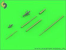 Su-15 FLAGON METAL PITOT TUBES #72105 1/72 MASTER
