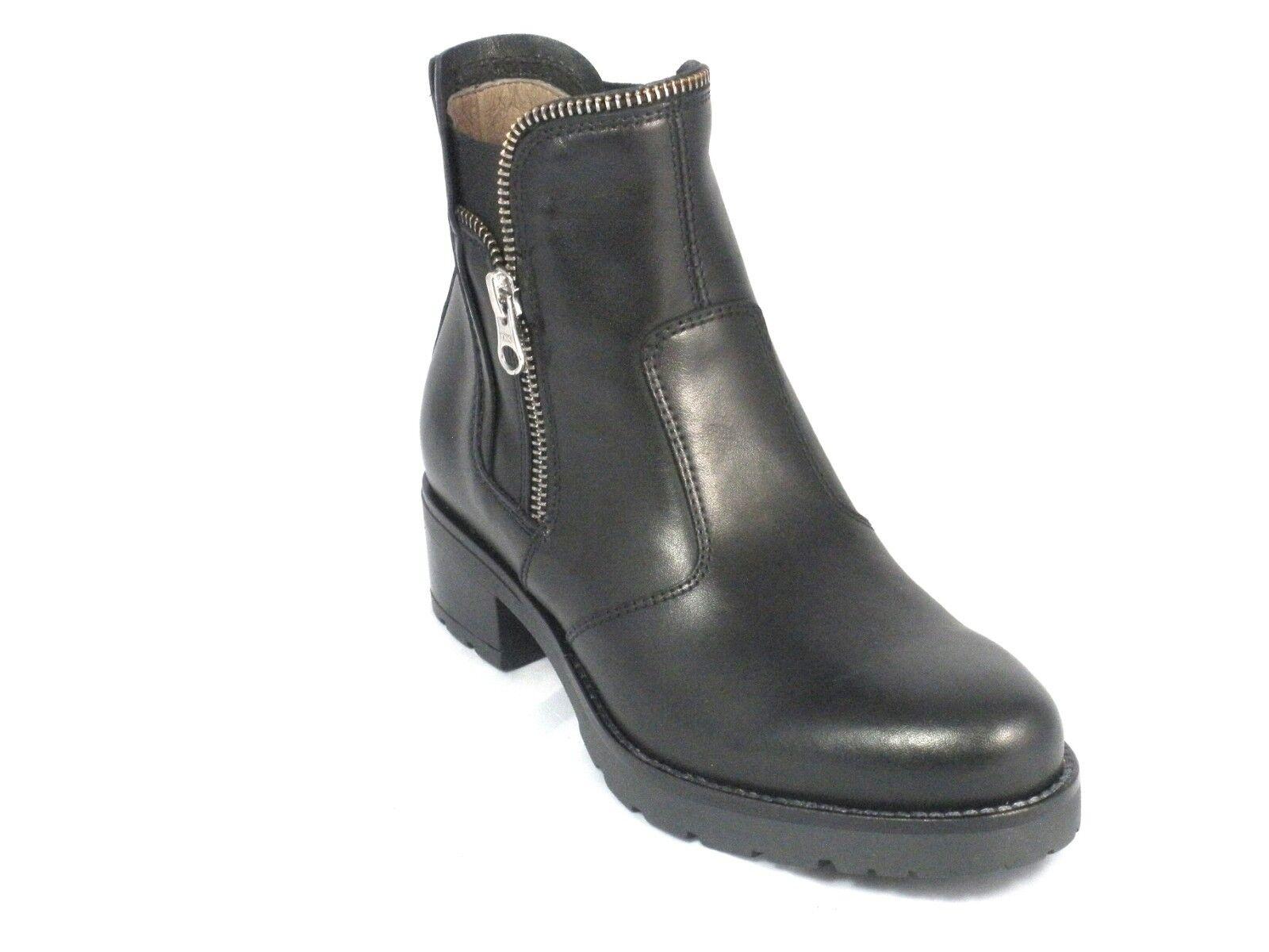 vendita con alto sconto Nero Giardini Donna tronchetto A807050D pelle nero scarpe fatte in in in Italia  esclusivo