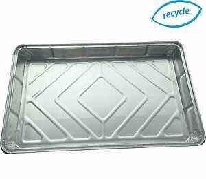 Rectangular-Foil-Dish-Baking-Tray-Container-Tray-Bake-Rolled-Edge-12-x-8-034