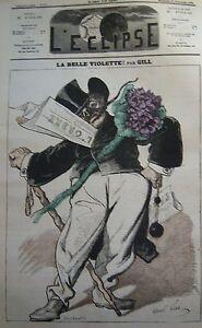 La-Belle-Purple-Caricature-Gill-Journal-Satirical-L-039-Eclipse-No-No-211-of-1872