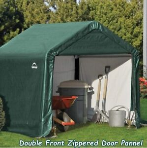 Portable Garage Storage Round Style Shelter Shed Tent ...