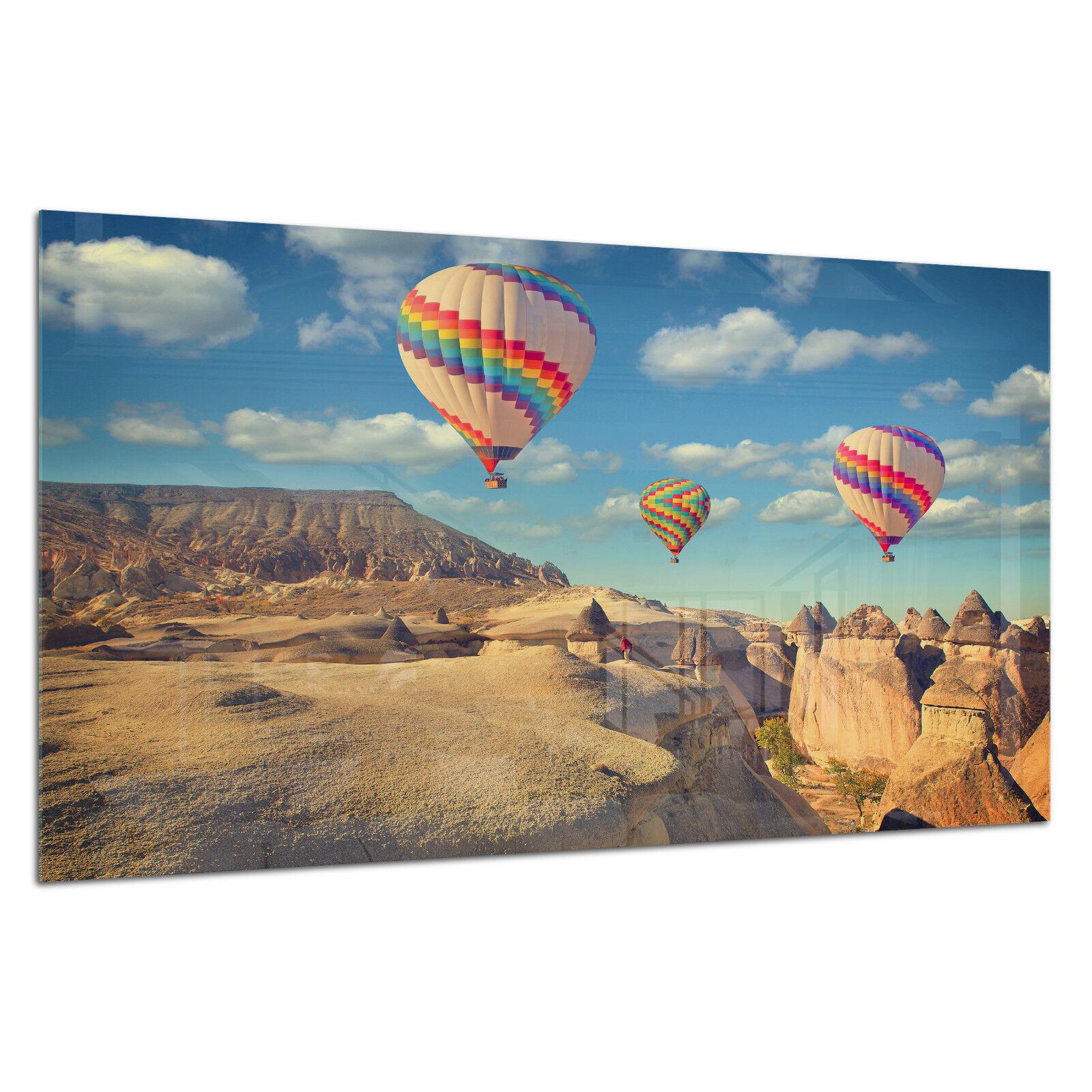 Vidrio templado Foto Impresión Parojo Arte Foto Globos Canyon Turquía Prizma GWA0347