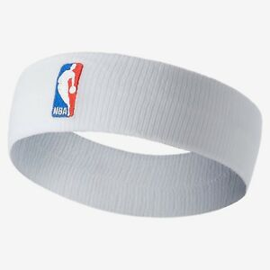 53a439730fb Brand New Unused Nike NBA Elite Basketball Headband Dri-FIT White ...
