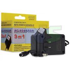 AC Adapter Power Supply for NES, SNES Super Nintendo, Sega Genesis 1 NEW IN BOX