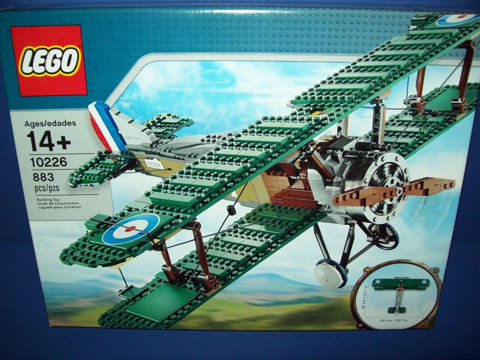 Lego Sopwith Camel (10226) NISB New Sealed Retired