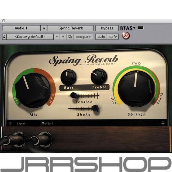 Softube Spring Reverb eDelivery JRR Shop