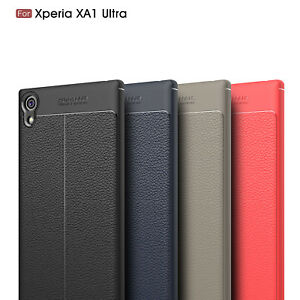 Ultra-Thin-Luxury-PU-Leather-Soft-TPU-Shockproof-Case-For-Sony-Xperia-XA1-Ultra