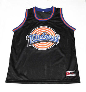 serino MICHAEL JORDAN TUNE SQUAD SPACE JAM MOVIE JERSEY BLACK NEW ANY