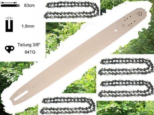 63cm Schwert Schiene 4 Ketten passend f Stihl 029 MS290