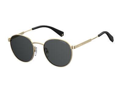 Sonnenbrille Polaroid PLD 2053//s gold grau polarisiert 2F7//M9