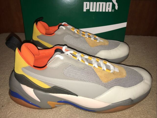 2230a5bbce6f PUMA THUNDER SPECTRA Rare Size 12 Grey Yellow Multi Colored LIMITED New  36751602