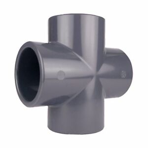 Union Plain Solvent Cement Grey uPVC Pipe Fitting Imperial